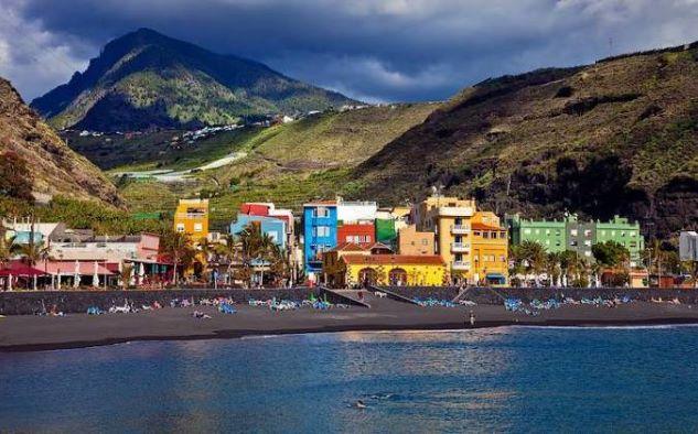 puerto tazacorte panoramica
