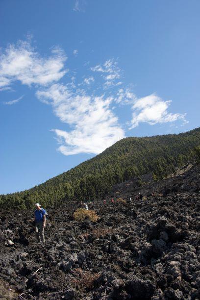 caminata volcan bodega