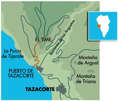 mapa time puerto tazacorte