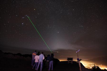 observación astronómica en la palma