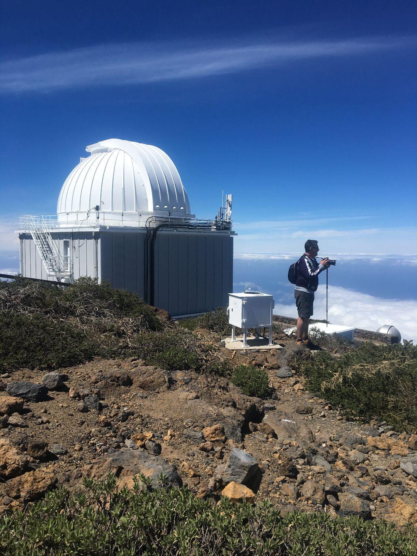 observatorio cima isla con guia isla bonita tours