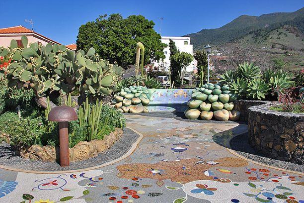 plaza glorieta la palma isla bonita tours