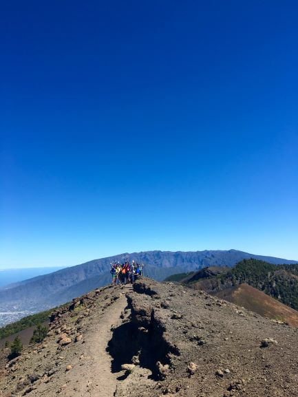 ruta volcanes con guía isla bonita tours