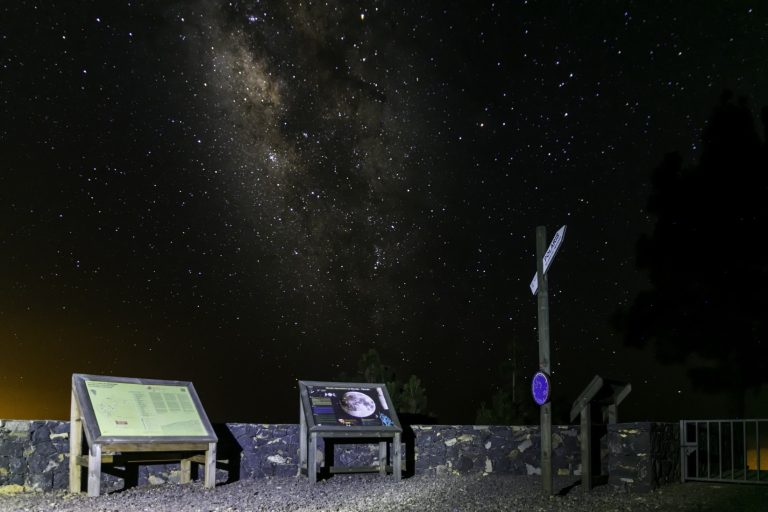 miradores astronomicos la palma