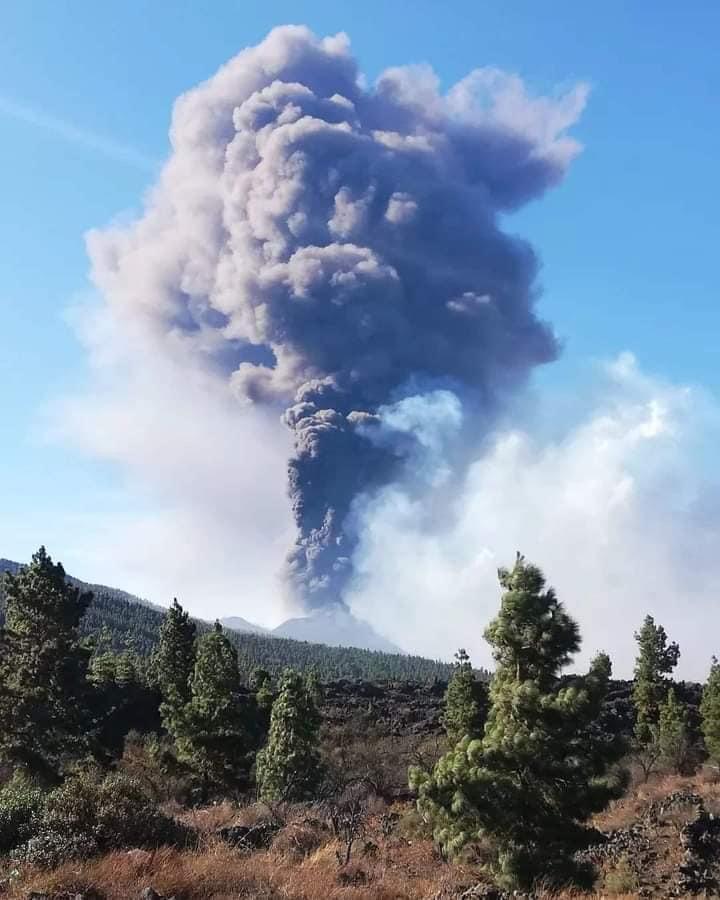 volcanic eruption la palma